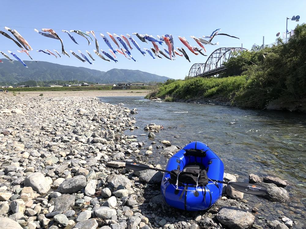紀の川カヌースタート地点