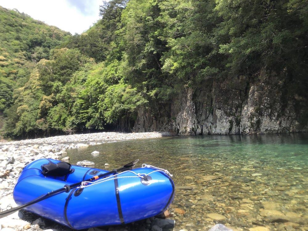 和田川の渓谷