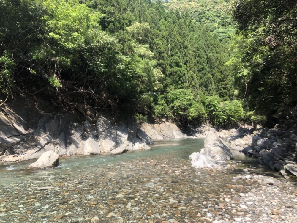 大塔川の渓谷美