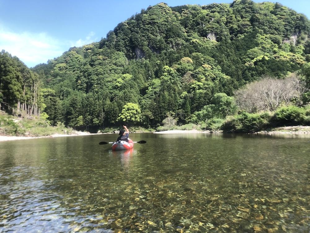 古座川の雄大な風景