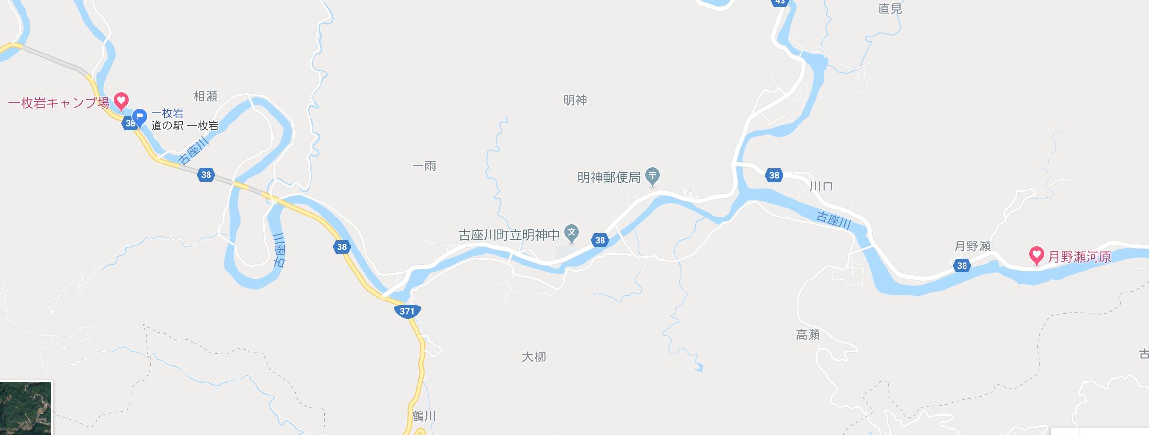 古座川川下りルート