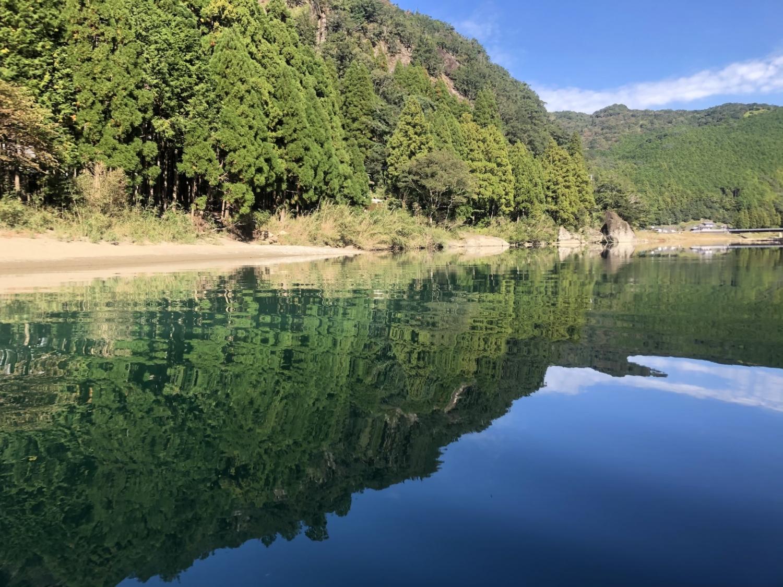 秋の古座川