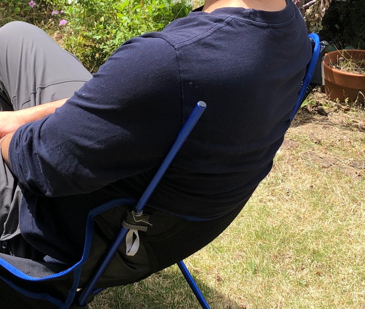 椅子の背中部分