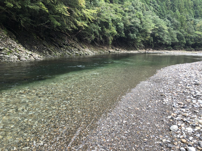 大塔川の清流
