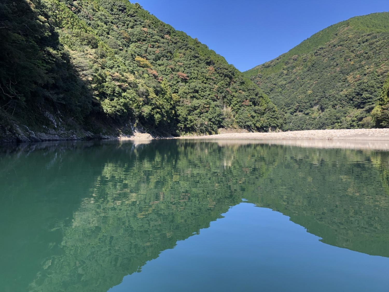日置川の風景